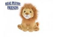 Lev plyšový 15cm sedící 0m+