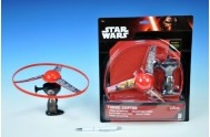 Vystřelovač vrtulí plast 23cm Star Wars na kartě