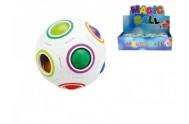 Hlavolam míček plast 7cm v síťce 12ks v DBX