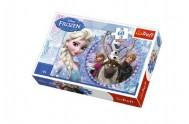 Puzzle Ledové království/Frozen 33x22cm 60 dílků v krabici