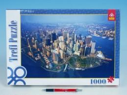 Puzzle New York 1000 dílků v krabici Trefl - Rock David