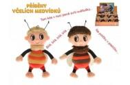 Příběhy včelích medvídků -  Čmelda nebo Brumda plyš 15cm na baterie s písničkami