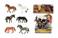 Kůň 6ks plast 13-14cm v sáčku