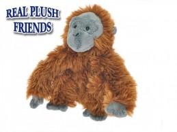 Opice plyšová 21cm v sáčku 0m+ - Rock David