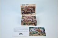 Kostky kubus Jak dědeček měnil dřevo 12ks v krabičce 16,5x12,5x4cm