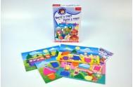 Malý objevitel Barvy a tvary edukační společenská hra v krabici