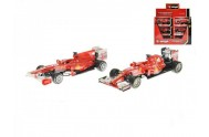Auto Bburago 1:43 Ferrari Racing formule asst 3 druhy v krabičce 12ks v DBX