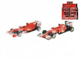Auto Bburago 1:43 Ferrari Racing formule asst 3 druhy v krabičce 12ks v DBX - Rock David