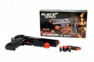 Pistole s náboji plast 24cm Black Series v krabici