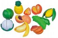 Krájecí ovoce a zelenina plast 28ks na blistru