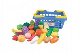 Nákupní košík ovoce/zelenina 25ks plast 28x13x22cm v síťce - Rock David