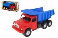 Auto Tatra 148 plast 30cm červeno modrá v krabici