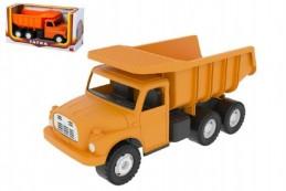 Auto Tatra 148 plast 30cm celá oranžová v krabici - Rock David