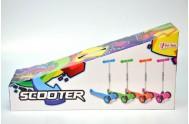 Koloběžka Scooter 53x65cm asst 4 barvy v krabici
