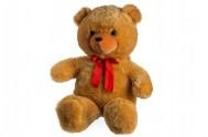 Medvěd plyš 100cm s mašlí světle hnědý od 0 měsíců