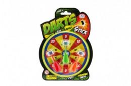 Terč malý + vodní šipky 3ks plast na kartě - Rock David