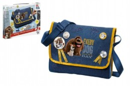 Tajný život mazlíčků taška na rameno 28x22x6cm v krabici - Rock David