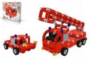 Stavebnice Seva Rescue 1 hasiči plast 545ks v krabici 35x33x8cm