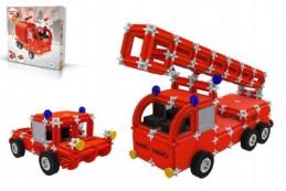 Stavebnice Seva Rescue 1 hasiči plast 545ks v krabici 35x33x8cm - Rock David