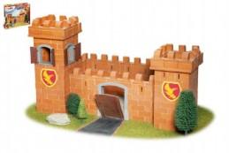 Stavebnice Teifoc Rytířský hrad 460ks v krabici 44x33x11cm - Rock David