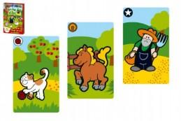 Černý Petr Moje první zvířátka společenská hra - karty v papírové krabičce MPZ - Rock David