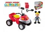 Mickey Mouse Clubhouse záchranář plast 10cm s kloubovou figurkou 8cm s doplňky v krabičce