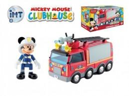 Mickey Mouse Clubhouse Hasiči plast 24cm na baterie se světlem a zvukem + kloubová figurka v krabici - Rock David