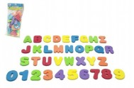 Pěnová písmena a číslice do vany 36ks v sáčku