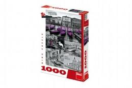 Puzzle Benátky - koláž 1000 dílků 47x66cm v krabici 27x37x5cm - Rock David