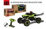 Auto Rock Buggy red scarab RC 2.4GHz 4x4 offroad plast 26cm 1:18 v krabici