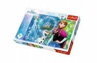 Puzzle Ledové království 200 dílků 48x34cm v krabici 33x23x4cm