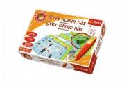 Malý objevitel Svět kolem nás + kouzelná tužka edukační společenská hra v krabici