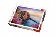 Puzzle Manarola, Itálie 85x58cm 1500 dílků v krabici 40x27x6cm