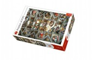 Puzzle Sixtinská kaple 136x96cm 6000 dílků v krabici 40x27x9cm