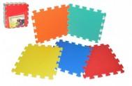 Pěnové puzzle 32x32cm 10ks v sáčku