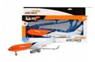 Letadlo plast 36cm na setrvačník v krabici