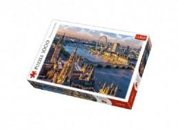 Puzzle Londýn 1000 dílků 68,3x48cm v krabici 40x27x6cm - Rock David