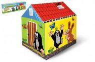 Domek/stan dětský Krtek 95x72x102cm v krabici