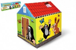 Domek/stan dětský Krtek 95x72x102cm v krabici - Rock David