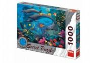 Puzzle Mořský svět 12 skrytých detailů 1000 dílků 66x47cm v krabici 37x27x5,5cm