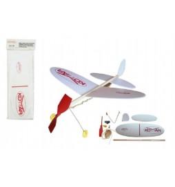 Letadlo Komár model pěna 39x31cm v sáčku