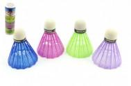 Míčky/Košíčky na badminton plast 5ks v tubě