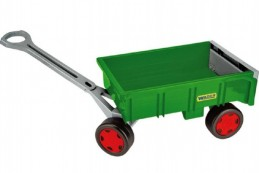 Vozík/Vlečka dětská plast 95cm Wader Farmer nosnost 60kg 12m+ - Rock David