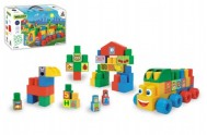 Kostky Middle Blocks plast 140ks v krabici 59x35x20cm Wader
