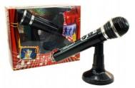 Mikrofon plast 20cm na baterie se zvukem v krabici