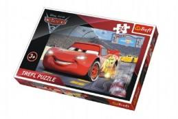Puzzle MAXI Auta/Cars 3 Disney 24 dílků 60x40cm v krabici 39x26x4cm - Rock David