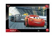 Puzzle deskové Auta/Cars 3 Disney 15 dílků