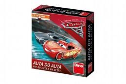 AUTA DO AUTA Cars 3 cestovní společenská hra v krabičce 13x13x4cm - Rock David