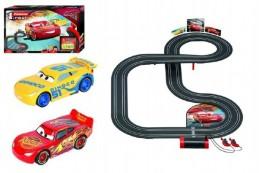 Autodráha Carrera First Auta 3/Cars 3,5m plast na baterie v krabici 50x30x8cm - Rock David
