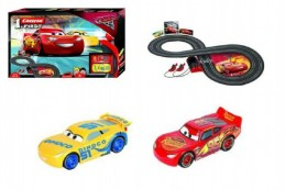 Autodráha Carrera First Auta 3/Cars plast 2,4m na baterie v krabici 50x30x7cm - Rock David
